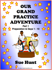 Our Grand Practice Adventure, days-1-10