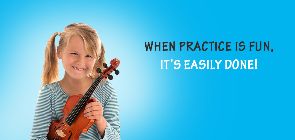 Music in practice slider image